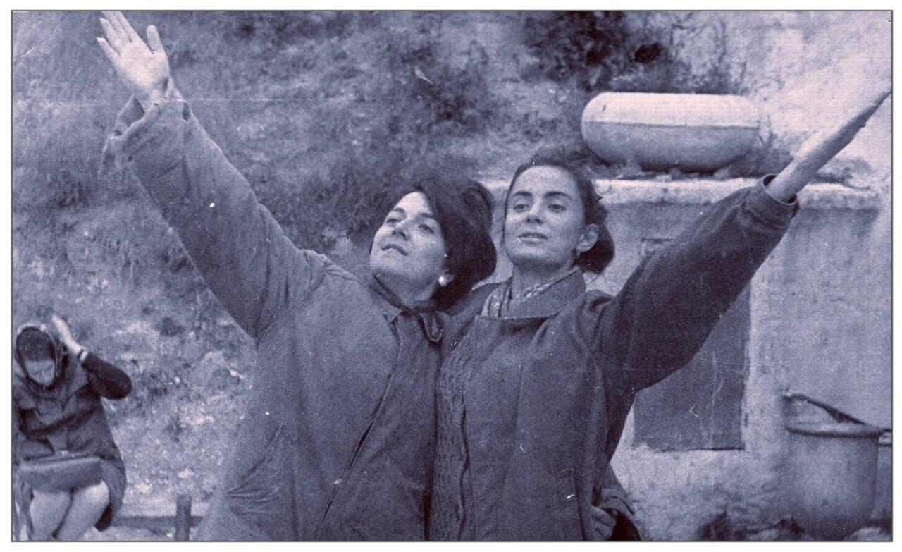 1969. Лето. Во время Всесоюзного агитпохода студенческой молодежи по комсомольским стройкам Северного Урала. Кунгур