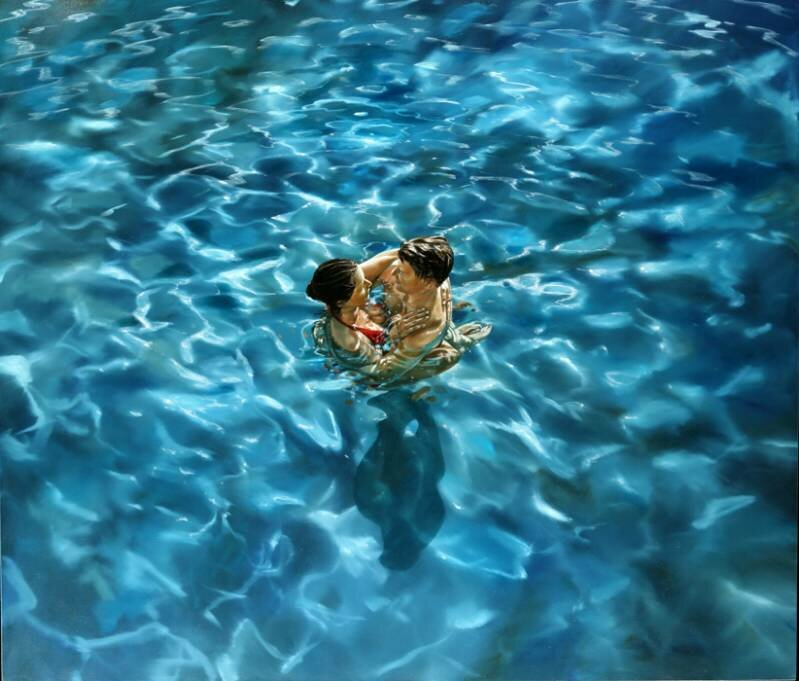 Eric Zener. Художник-самоучка. Вода и люди