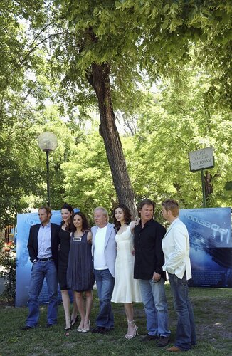 Photocall For Poseidon In Rome