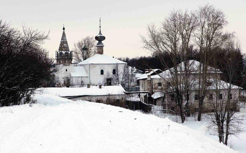 Суздаль - Церковь Иоанна Предтечи