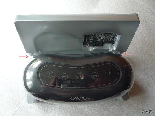 Canyon CNA-BTSP01 (снятие упаковки)