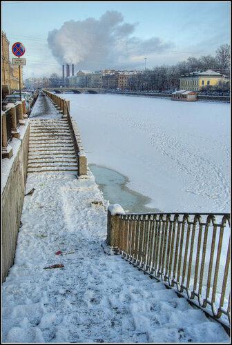 Санкт-Петербург.  Январь 2014.