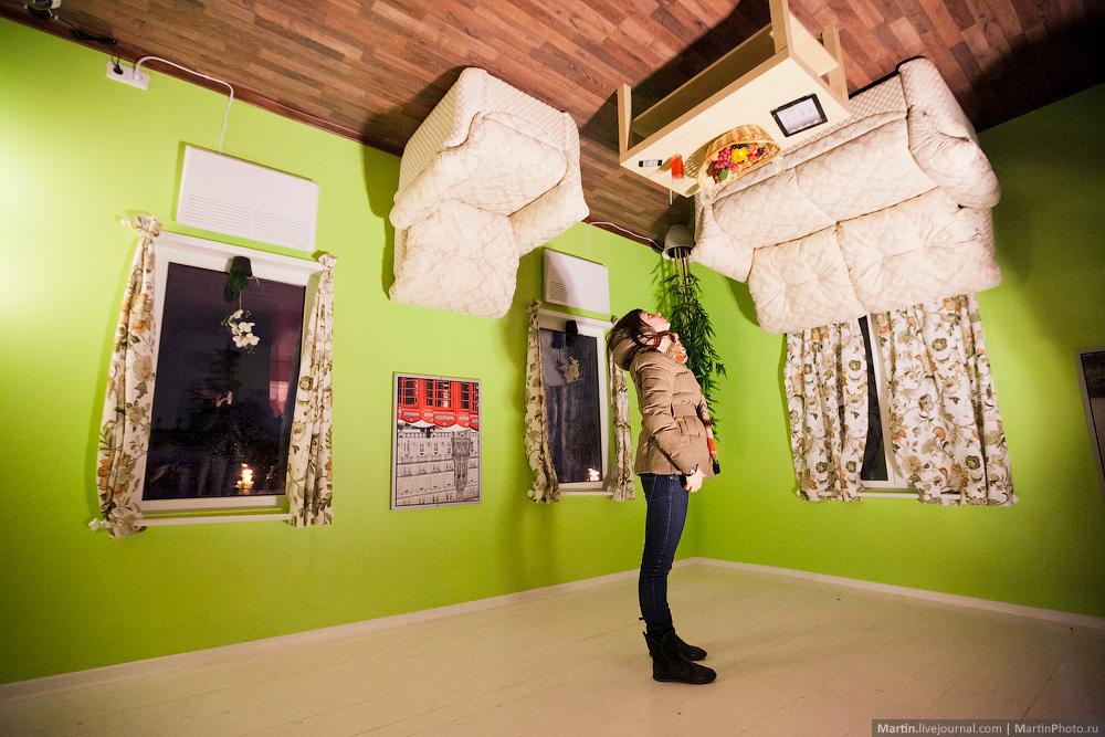 Дом наоборот в Москве на ВДНХ