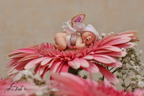 Младенцы из полимерной глины — мастер-класс
