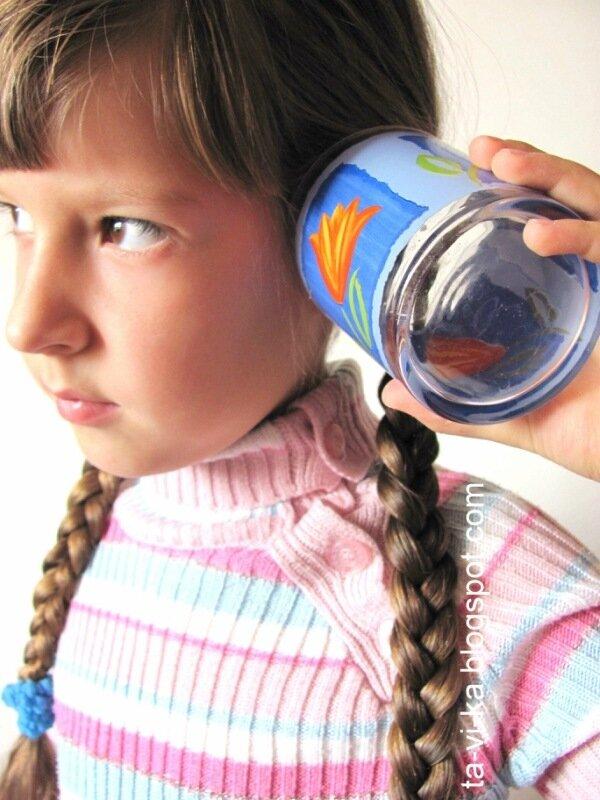 занятие для детей по физике - шум моря в ракушке