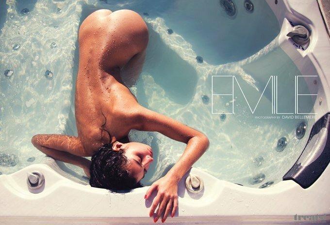 Французская модель таитянского происхождения Эмили Пайет