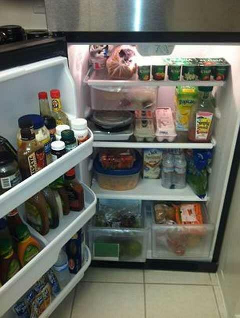 Чтобы узнать своего партнера, нужно просто заглянуть в его холодильник