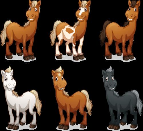 Клипарт лошадки