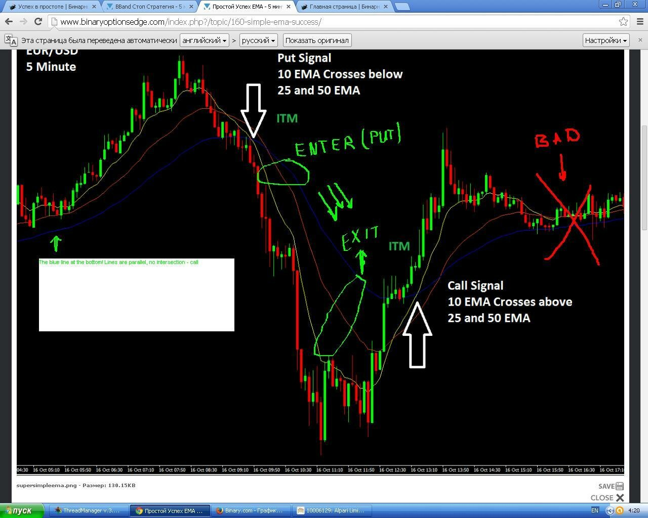 10 minute binary options trading system
