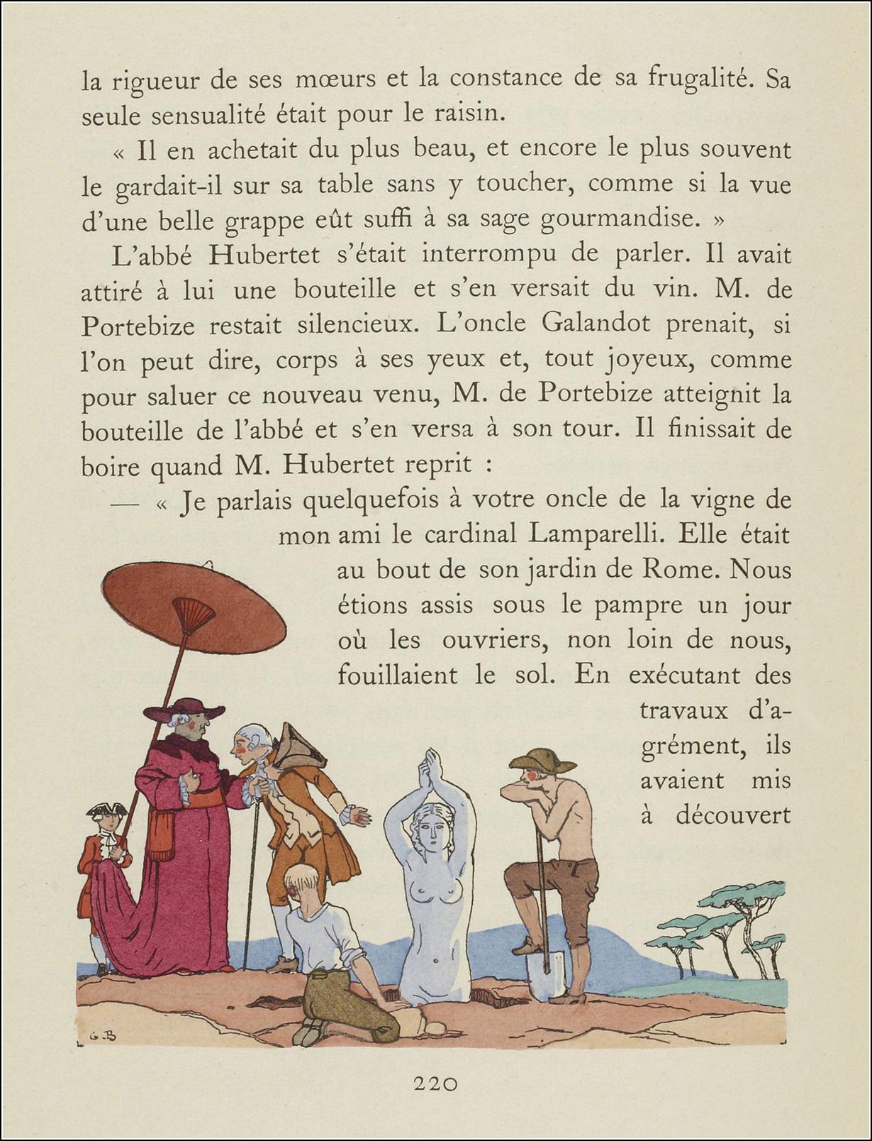 Georges Barbier, La double maîtresse