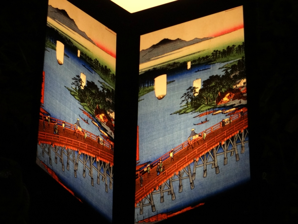 Японские фонарики парка Уэно