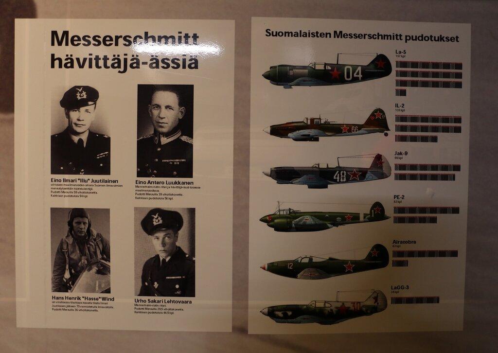 Авиамузей Хельсинки-Вантаа. Финские ассы