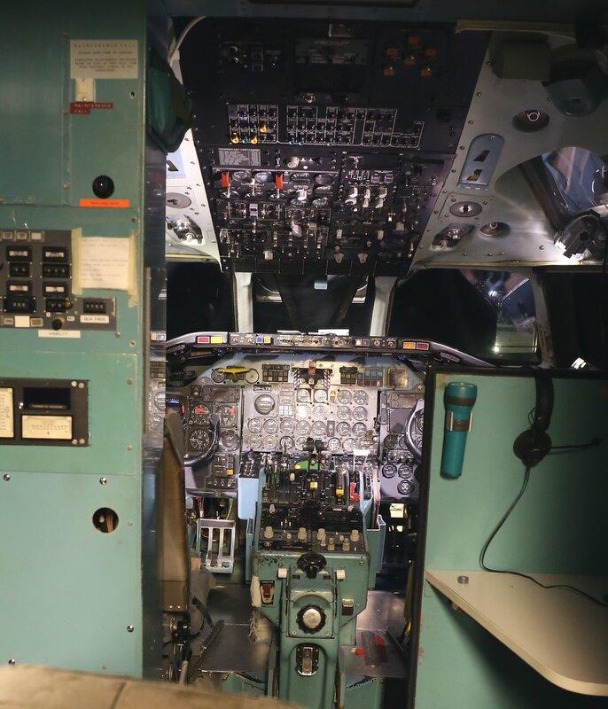 Авиамузей Хельсинки-Вантаа. Тренажёр DC-9