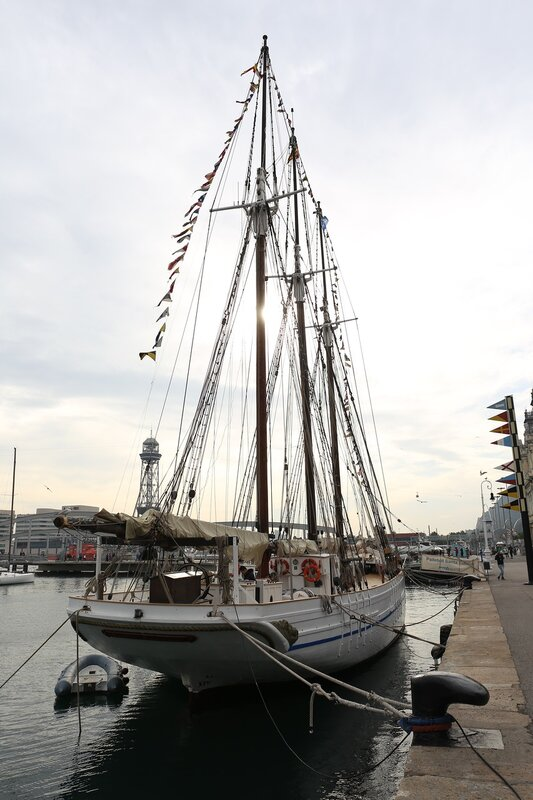 Barcelona.  St. Helena (Santa Eulalia) schooner