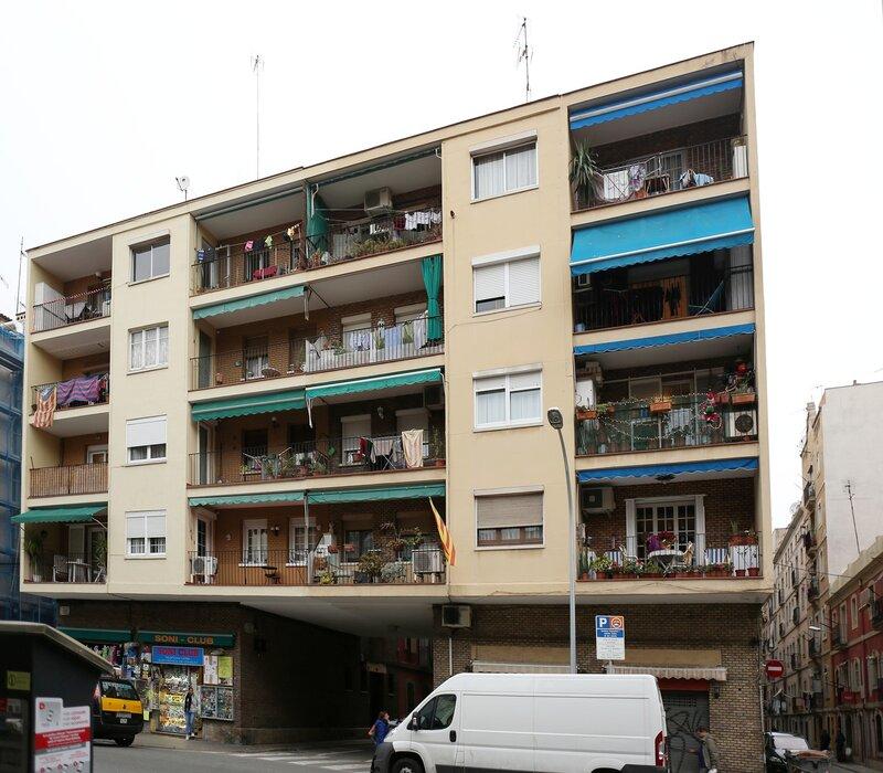 Barcelona. The Streets Of Barceloneta.