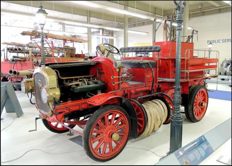 Autoworld 8211 Delahaye Brandwesserwagon 1907
