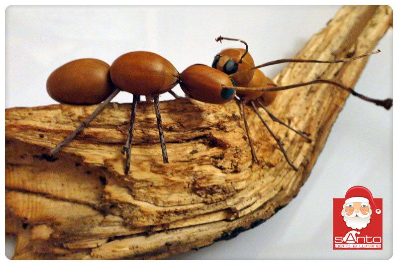 Поделка муравейника