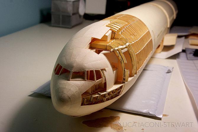 Самолет своими руками из бумаги фото