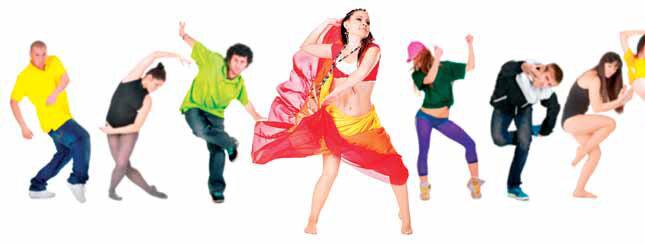 Сам по себе танец – не просто ритмичные движения