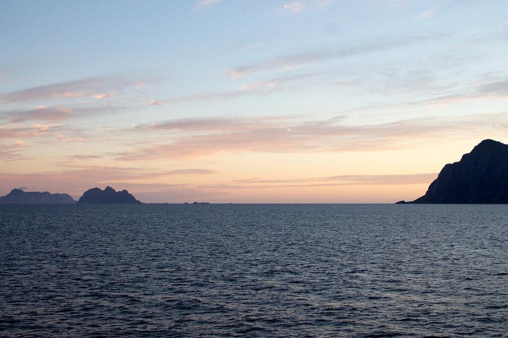 Закат на Лофотенских островах