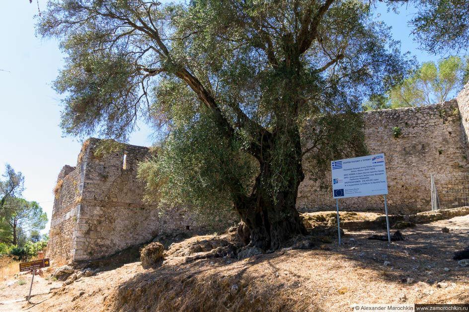 Крепость Гардики на острове Корфу