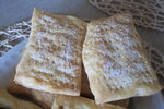 Слоеные булочки с сахаром