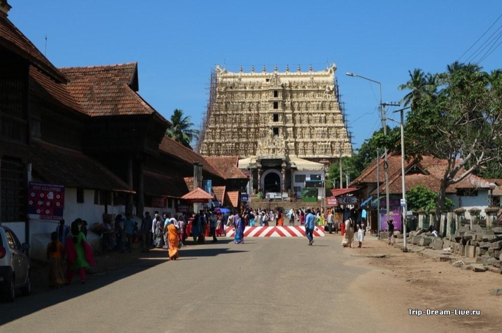 Храм Падманабхасвами в 2017 году