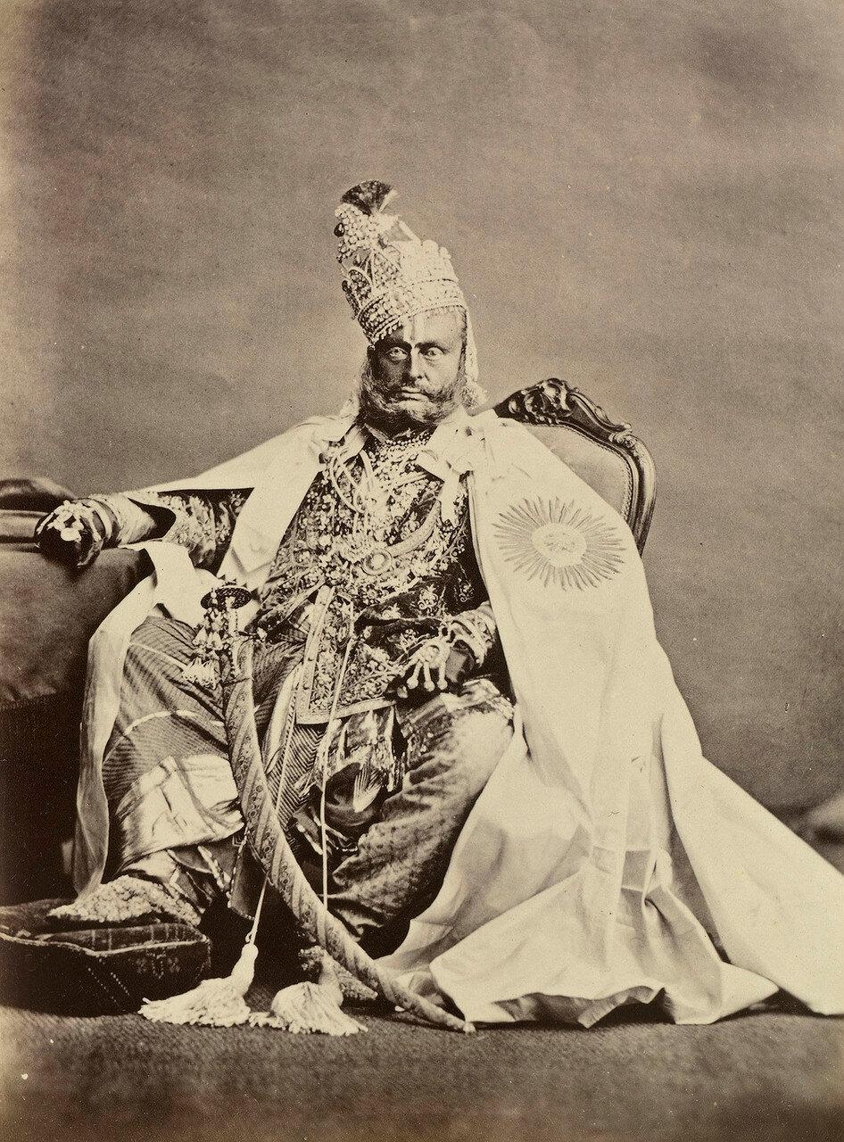 135. Рагхурайа Сингх, Махараджа Ревы (1831-80)