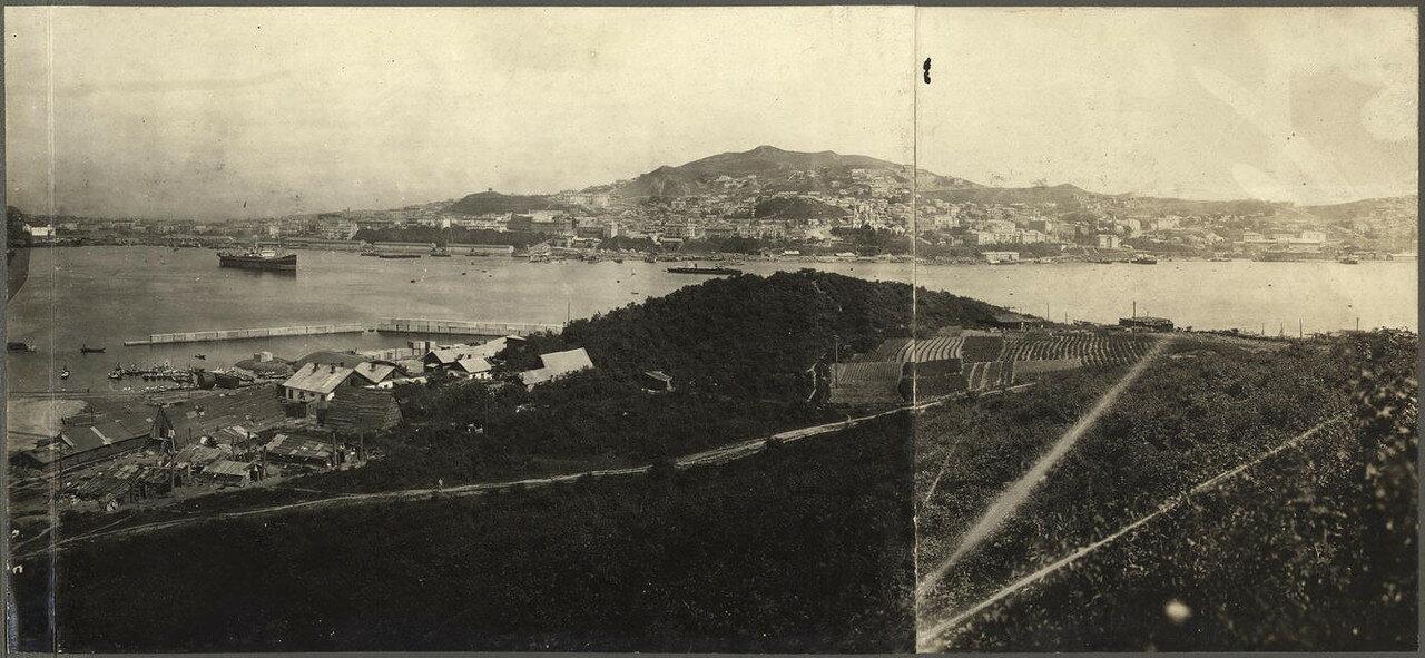 Панорама города 1916