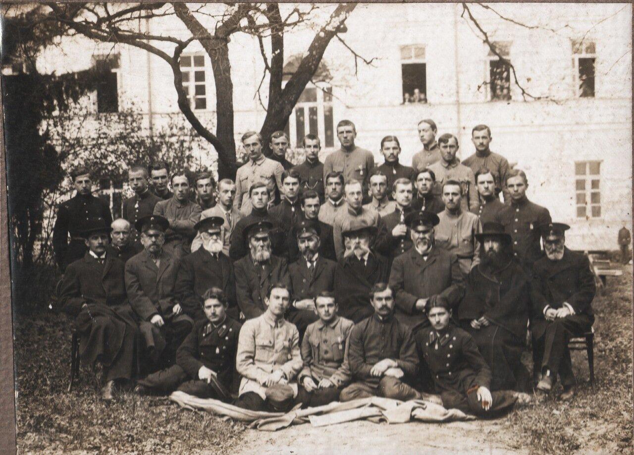 Выпуск Житомирской Первой гимназии 1918