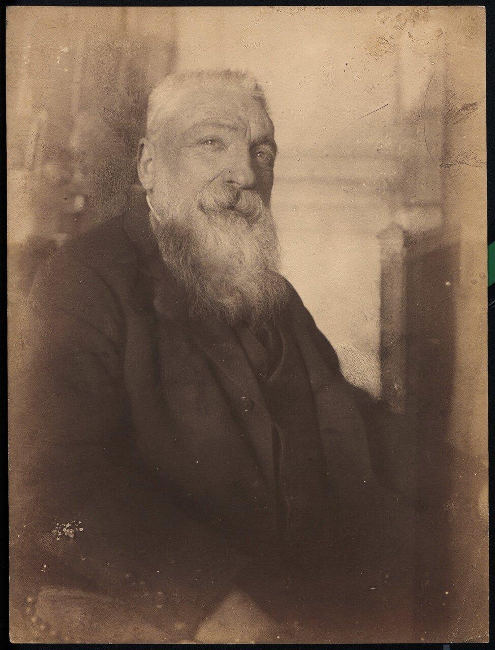Портрет Огюста Родена