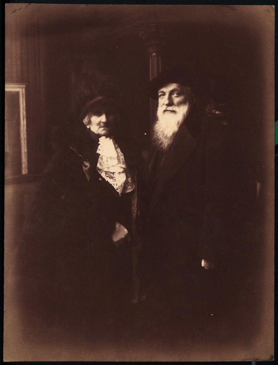 Роза Бёре и Огюст Роден в день своей свадьбы