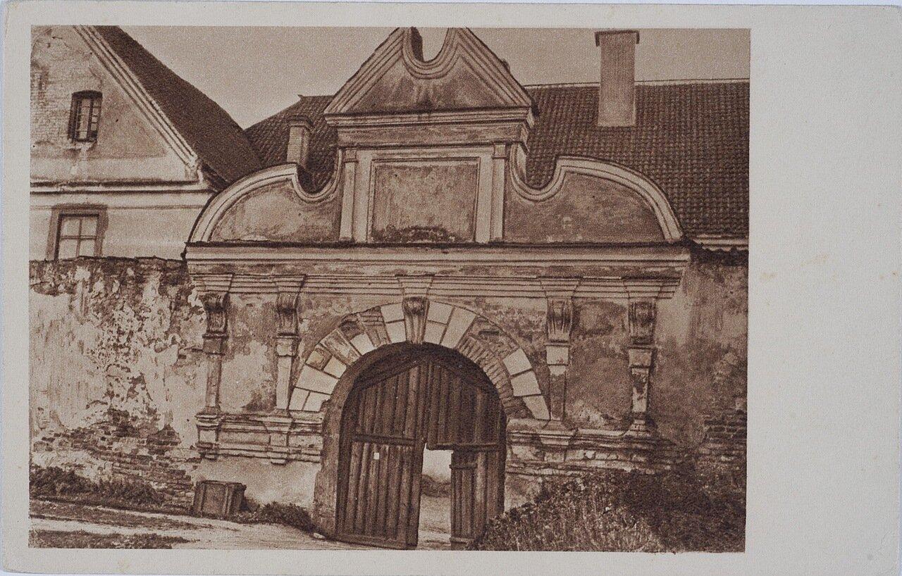 Монастырь Конгрегации Сестер Пресвятой семьи из Назарета. Монастырские ворота