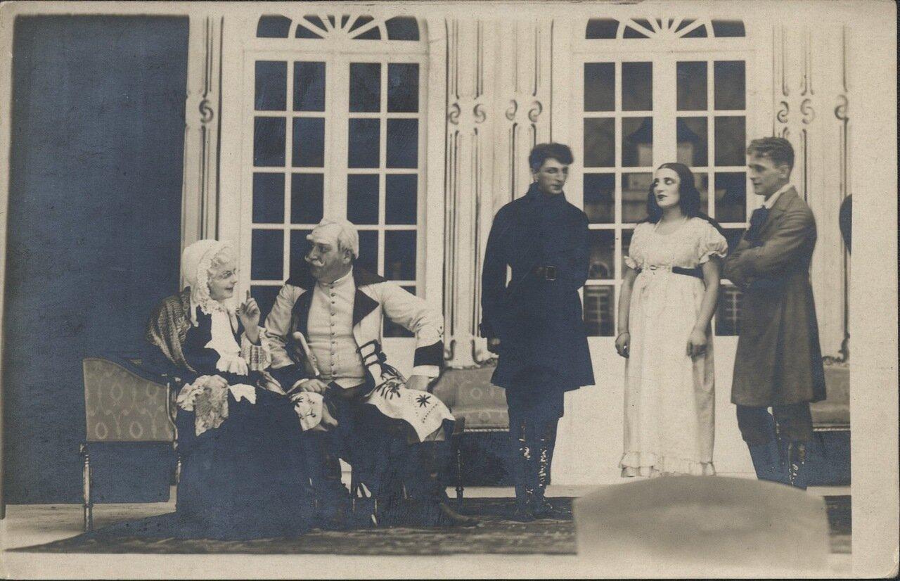 Спектакль Муниципального театра. 1926.