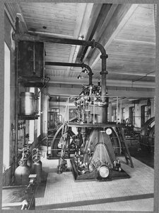 45. Электрическая станция. Двигатель Дизеля