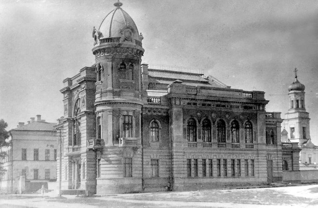 Дом-памятник И.А. Гончарову на Венце. 1915