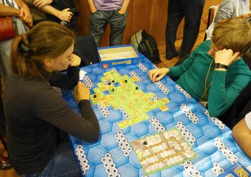 Настольная игротека Игрокон 2013