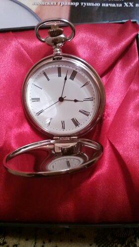 Карманные часы №11 - Часы с японской гравюрой