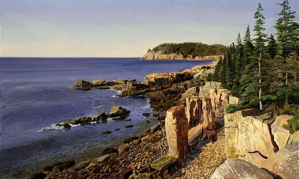 Ocean Drive, Acadia National Park, Штат Мэн.jpg