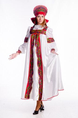 Женский карнавальный костюм Василиса Прекрасная