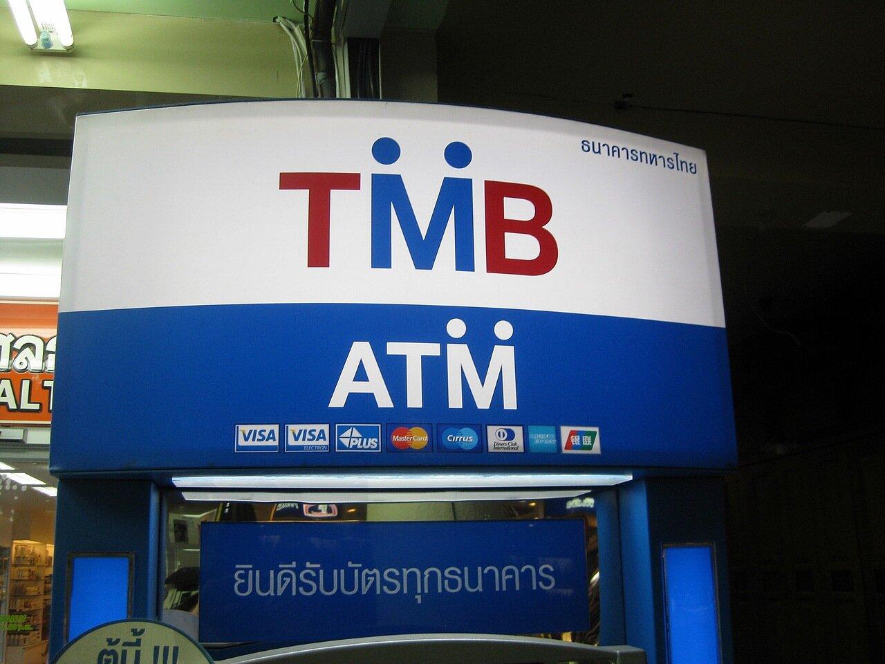 Банкомат Таиланда - владелец фото http://www.netzim.ru/