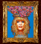 Портрет Аллы Пугачёвой в образе сицилианской вазы