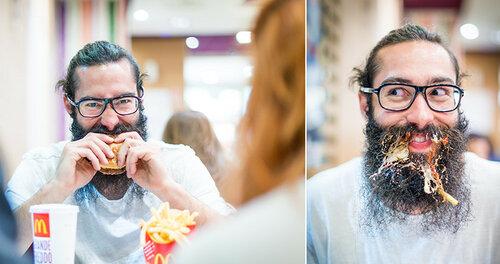 комплимент усам и бороде