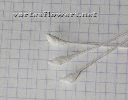 Как сделать пион из ткани. Выкройка (схема) пиона из ткани.