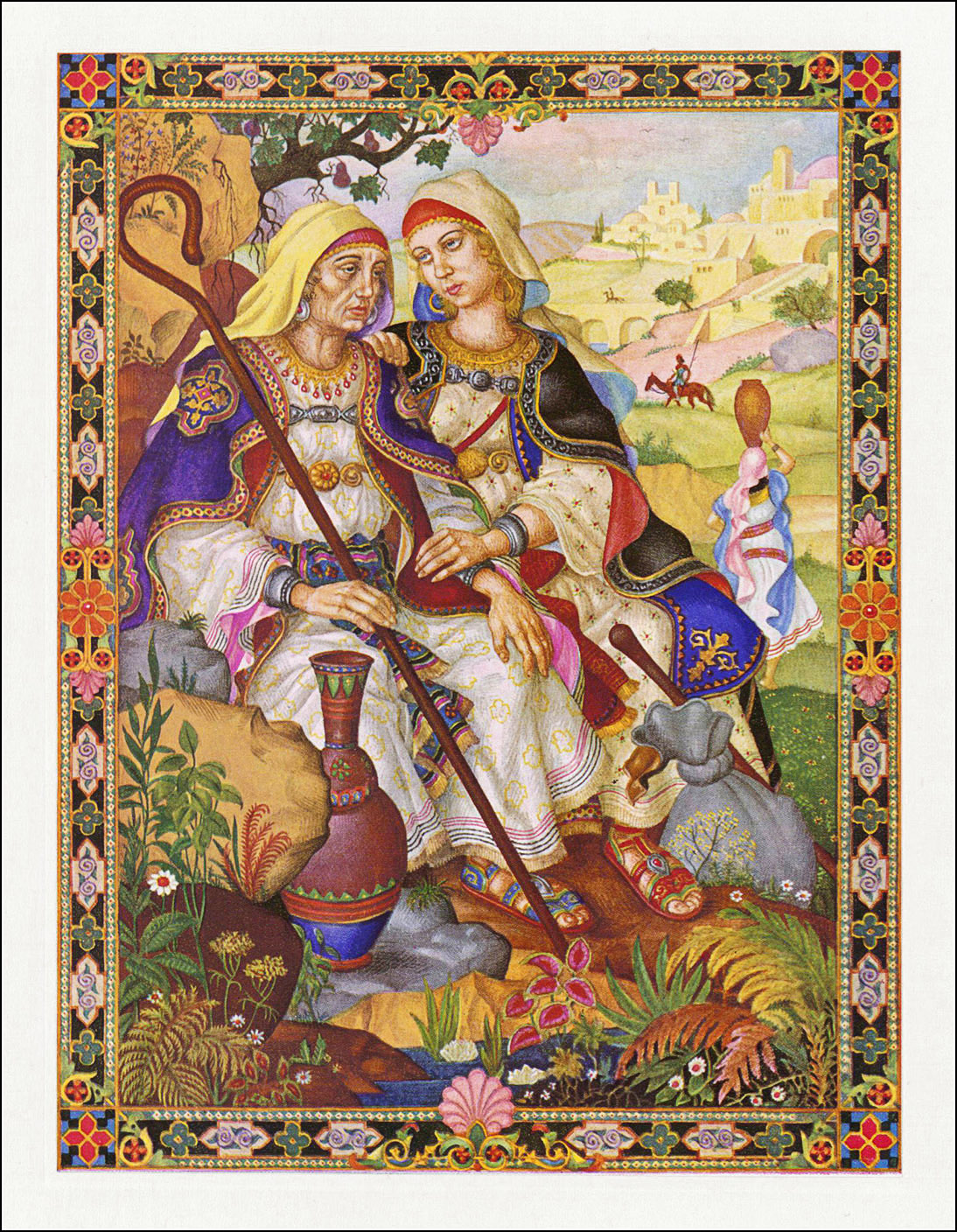 The book of Ruth Arthur Szyk
