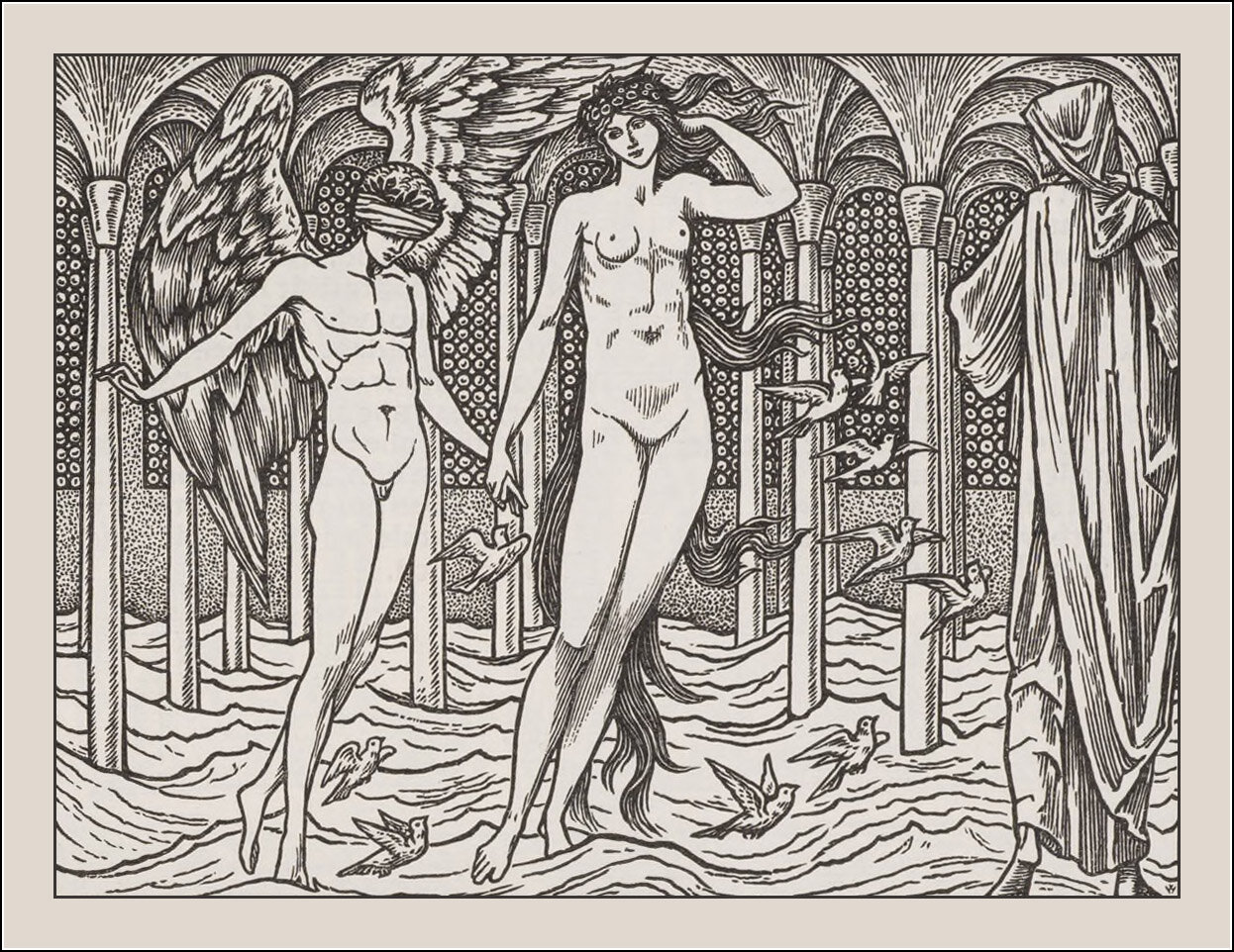 Edward Coley Burne-Jones, The works of Geoffrey Chaucer