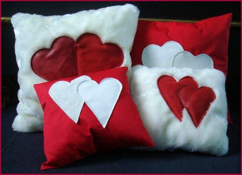 Подушка на день валентина своими руками