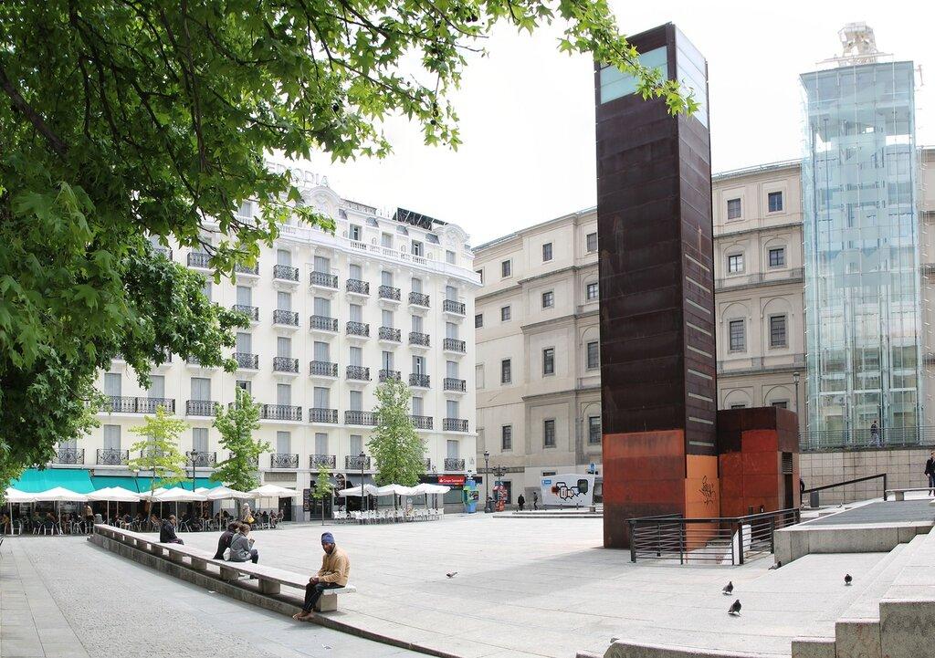 Madrid. Reina Sofia art center (Museo Nacional Centro de Arte Reina Sofía)