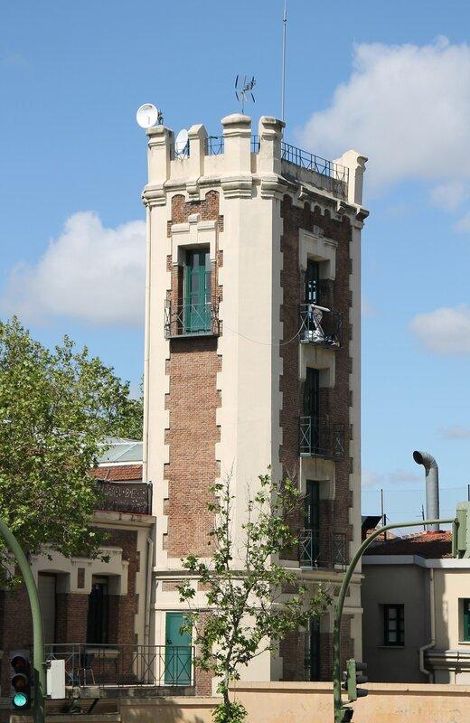 Мадрид. Пожарная часть №3 (Parque de Bomberos 3 Centro)