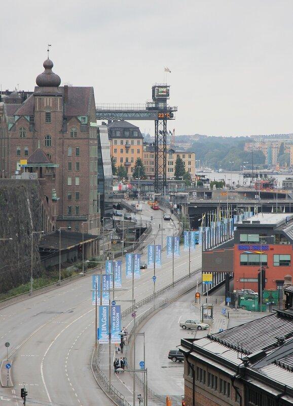 Stockholm. Стокгольм. Katarinahissen. Лифт Катарины